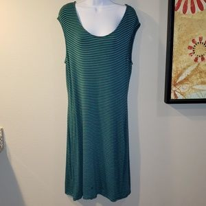 Tommy Bahama Sleeve Striped Casual Dress Size L